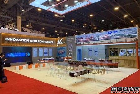 江南造船亮相全球最大天然气展GASTECH 2019