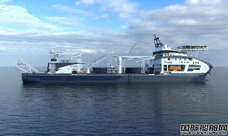 全球最大电缆敷设船开始龙骨铺设