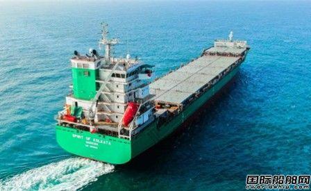 马尾造船又交付一艘1162TEU集装箱船