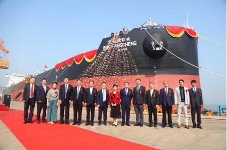 港船重工又交付一艘82000吨散货船