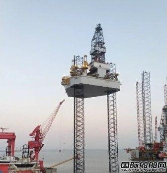 外高桥造船H1419平台全程升降试验圆满成功
