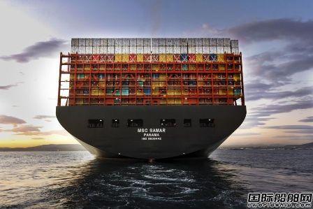 地中海航运第二艘23000TEU集装箱船正式命名