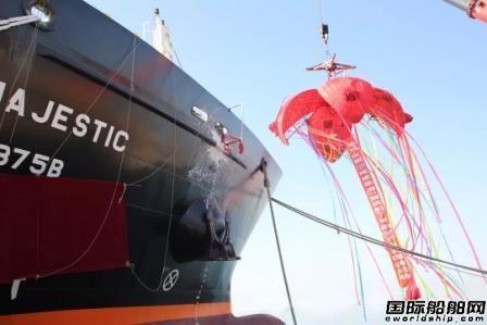 渤船重工交付最后一艘7999吨成品油/加油船