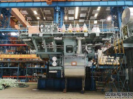 南京船配自主研制船用柴油机二冲程排气阀杆实现首台套装机