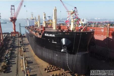 扬子江船业上周3艘散货船完成大节点
