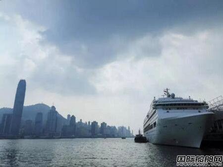 """""""鼓浪屿""""号顺利抵达首航目的地香港"""