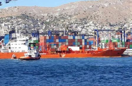 ONE旗下集装箱船在欧洲发生撞船事故