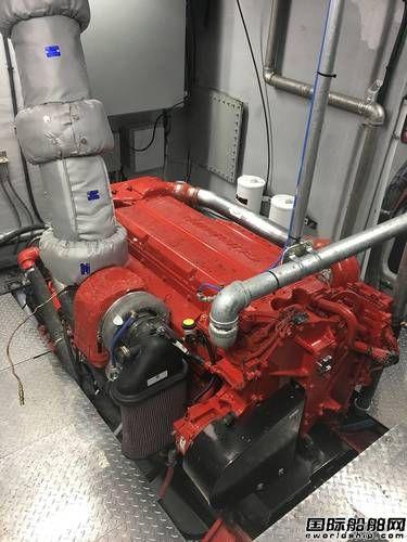 康明斯X15发动机首次进入商用渔船领域