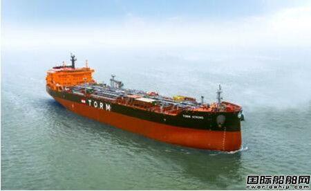 今年第13艘~广船国际交付一艘5万吨化学品成品油船