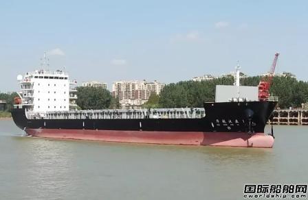 江东船厂交付一艘新一代江海联运集装箱船