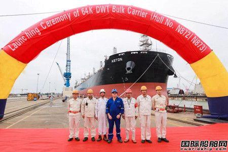 扬州中远海运重工国庆期间两船出坞一船完成试航