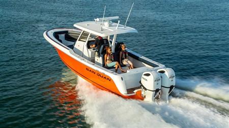 本田联手SanJuan Yachts共同打造全新SJ32游艇