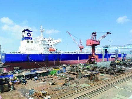 舟山中远海运重工带动六横船舶修造业腾飞发展
