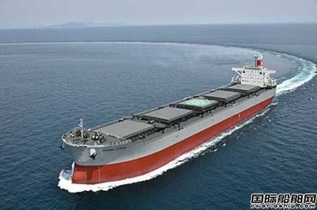 今治造船交付川崎汽船一艘88000吨煤炭运输船