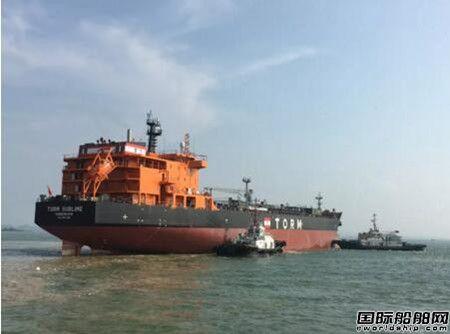 广船国际3船出坞1船试航掀起新高潮