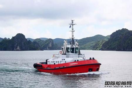 达门集团接获新西兰Napier港口拖轮订单