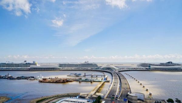 中国首个邮轮旅游发展示范区揭牌