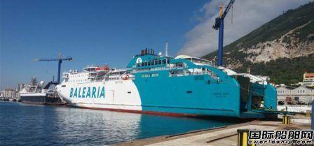Balearia开始第3艘LNG动力渡船改装工作