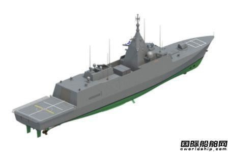 Aker Arctic接获芬兰海军4艘护卫舰推进器合同