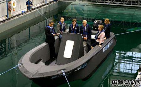 美国展示全球最大3D打印船欲颠覆造船业?
