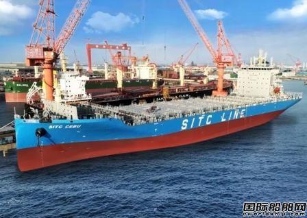 扬子江船业交付海丰国际首制2400TEU集装箱船