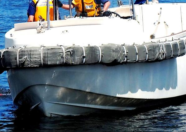 一艘货船日本近海沉没4人获救 8人失踪