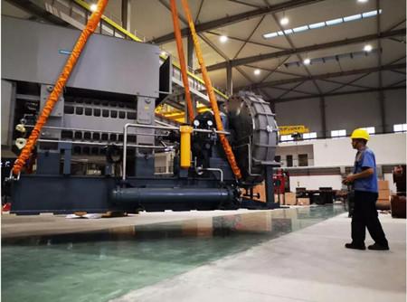 江增重工自主研制大吨位蒸汽压缩机顺利出厂