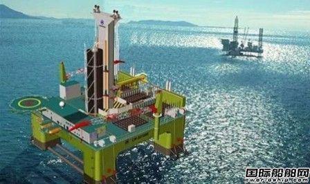 招商工业联合中海油服发布新型深水钻井平台