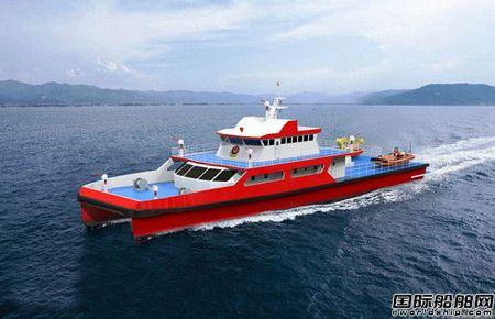 江龙船艇设计建造多款高性能消防船