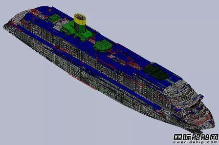 外高桥造船首艘国产大型邮轮点火开工
