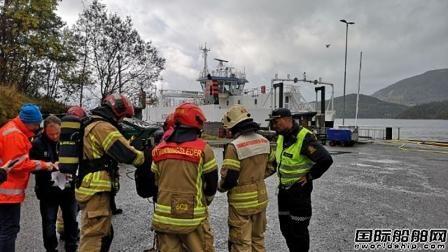 挪威一艘混合动力船电池系统爆炸引发海事部门关注