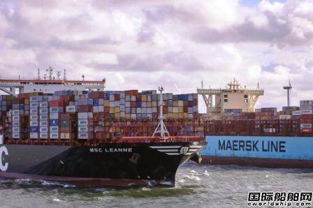 地中海航运有望超越马士基成为全球最大船公司