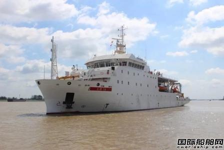 南高精交付巴基斯坦测量船推进动力系统