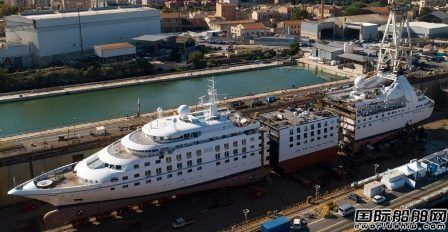 Fincantieri启动Windstar小型邮轮加长改装工程