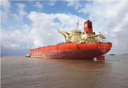 舟山灌门航道完成40万吨船舶实船试验