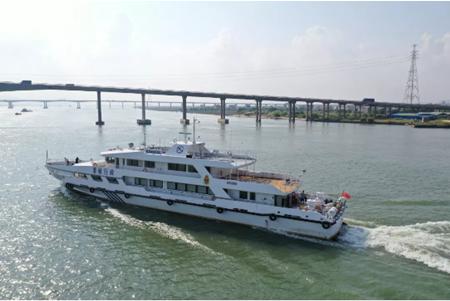 江龙船艇将交付JL4950海事综合指挥船