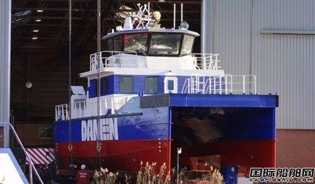 欧伦船业建造达门海上风电运维船年底将交付