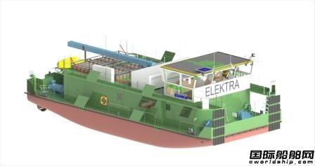 肖特尔为首艘零排放推船交付舵桨系统