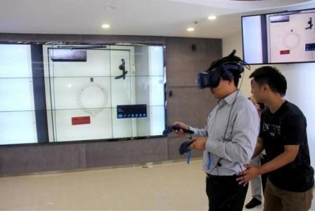 """国内首创!戴VR眼镜""""看""""船舶事故案例"""