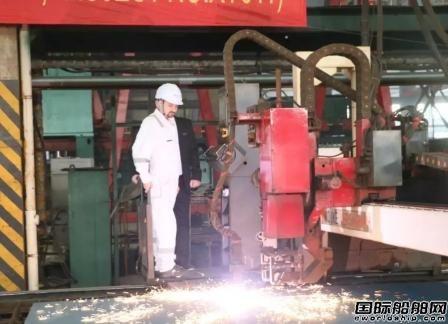 象屿海装1艘63500吨散货船开工