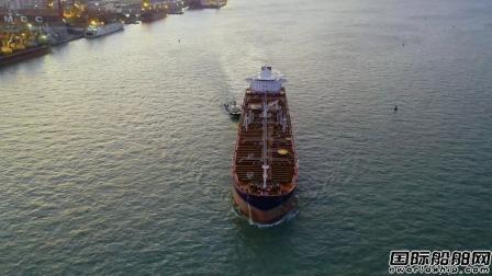 广船国际提前43天交付一艘7.5万吨成品油化学品船