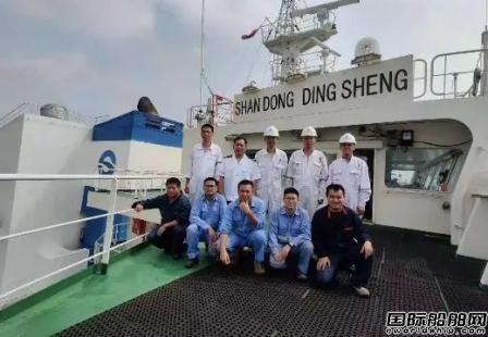 七一一所脱硫系统多艘船试航成功
