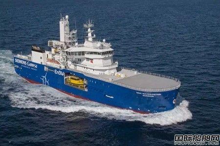达门交付Bibby Marine第二艘新型风电运维母船