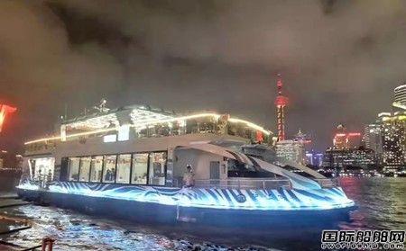 潍柴船机配套5艘游船上海外滩正式投入运营