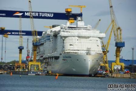 歌诗达首艘LNG动力豪华邮轮再遭延期交付