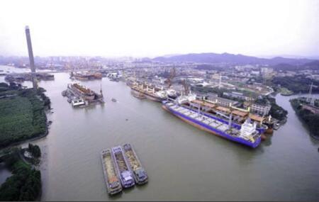 广东中远海运重工首次实现修船单月产值超亿元