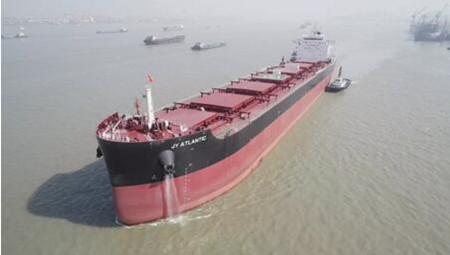 中船澄西建造8.2万吨散货船再次刷新试航纪录