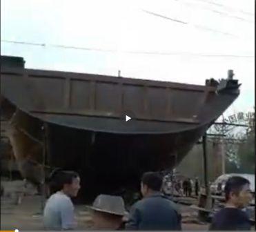 河南一船厂发生爆炸致1死3伤