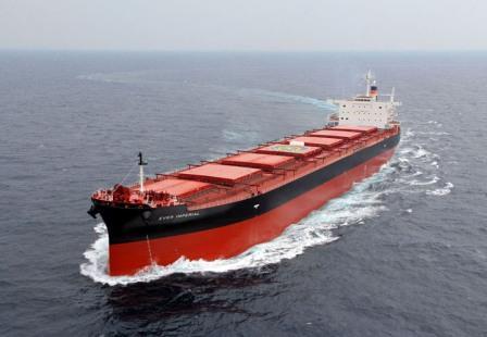 台湾益航增订Kamsarmax型散货船