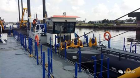 达门交付首艘定制化绞吸式挖泥船CSD350